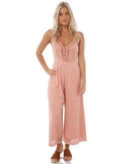 BLUSH WOMENS CLOTHING ARNHEM PLAYSUITS + OVERALLS - ARMEJU02BLUSH