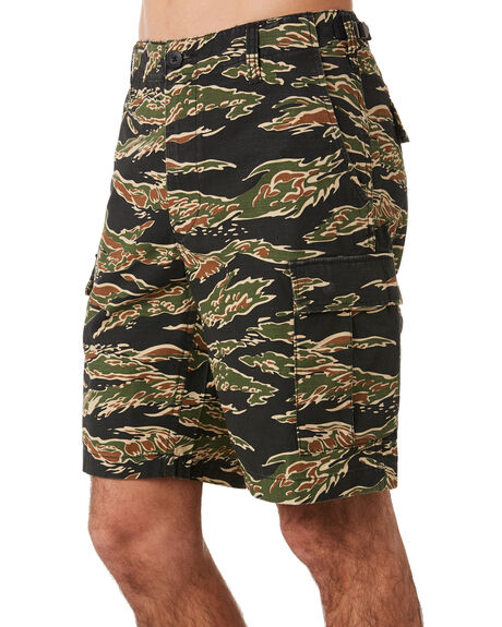 TIGER CAMO OUTLET MENS OBEY SHORTS - 172100062TIGER