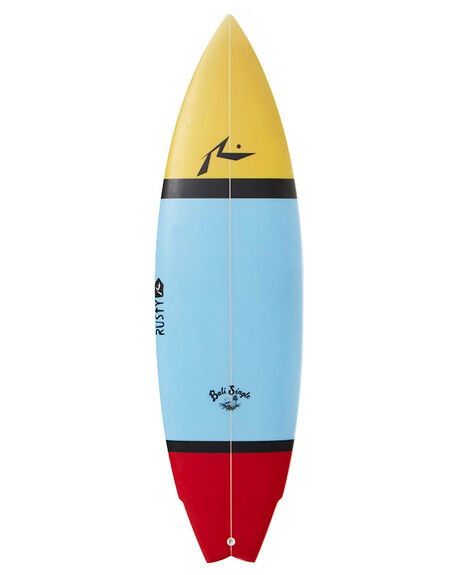 WHITE SURF SURFBOARDS RUSTY SINGLE FIN - RUBALISINGLE