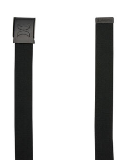 BLACK MENS ACCESSORIES HURLEY BELTS - HU0021010