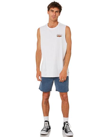 WHITE MENS CLOTHING SWELL SINGLETS - S5212273WHITE