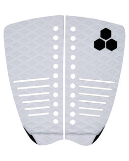 WHITE BOARDSPORTS SURF CHANNEL ISLANDS TAILPADS - 21023100100WHI