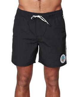 BLACK MENS CLOTHING RVCA BOARDSHORTS - RV-R107400-BLK