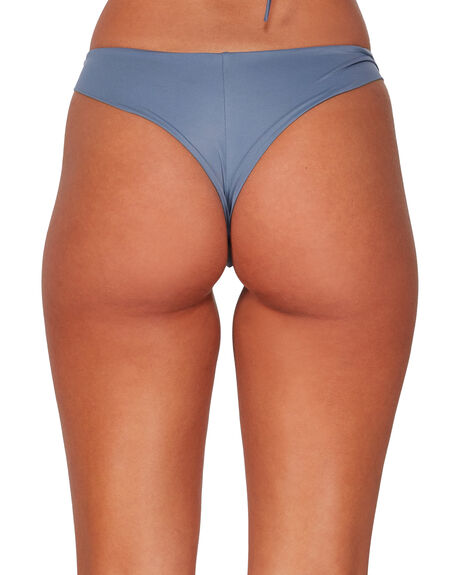 BLUE HAZE WOMENS SWIMWEAR RVCA BIKINI BOTTOMS - RV-R484826-BN4
