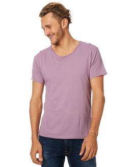 PURPLE MENS CLOTHING SILENT THEORY TEES - 4083026PURP