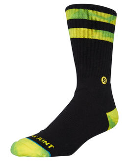BLACK MENS CLOTHING STANCE SOCKS + UNDERWEAR - M556A19SJBBLK