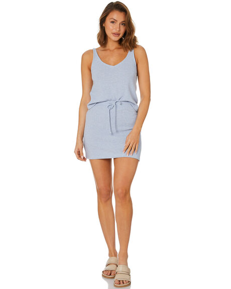 BLUE FOG WOMENS CLOTHING RUSTY FASHION TOPS - FSL0576BFG