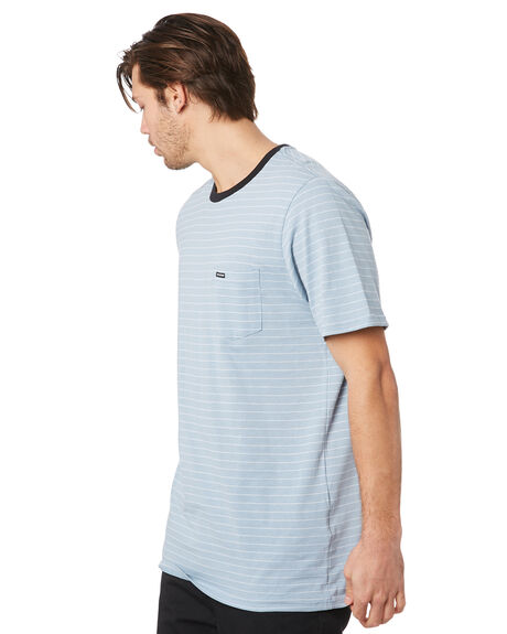 FLIGHT BLUE MENS CLOTHING VOLCOM TEES - A01118R0FLB
