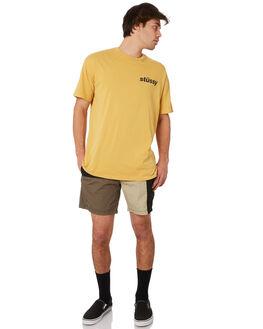 BLACK KHAKI MENS CLOTHING STUSSY BOARDSHORTS - ST092601BKKH