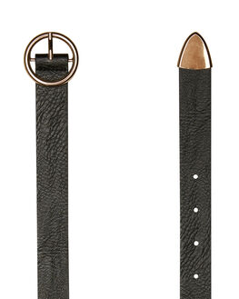 BLACK WOMENS ACCESSORIES SWELL BELTS - S81831721BLACK