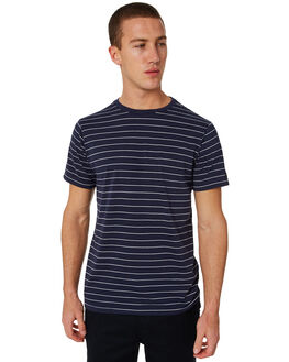 NAVY MENS CLOTHING RIP CURL TEES - CTELP20049