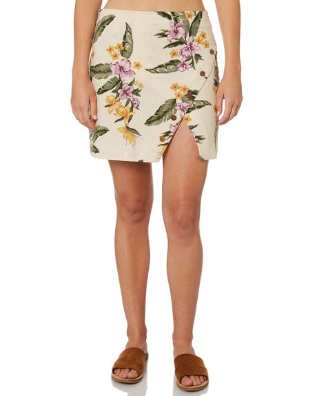 WHITE SWAN WOMENS CLOTHING BILLABONG SKIRTS - 6582530WHS