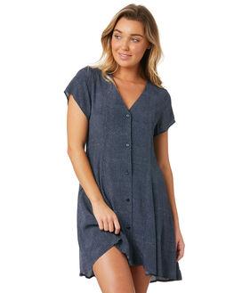 NAVY MINI SPOT WOMENS CLOTHING ROLLAS DRESSES - 12558-3519