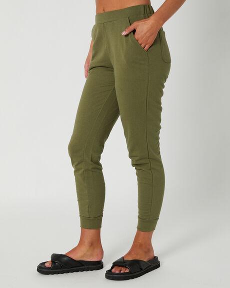 KHAKI WOMENS CLOTHING BETTY BASICS PANTS - BB723KHK
