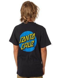 BLACK KIDS BOYS SANTA CRUZ TOPS - SC-YTA9168BLK