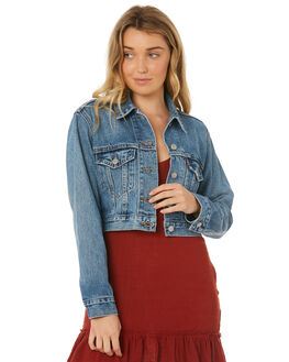 SMALL TALK WOMENS CLOTHING LEVI'S JACKETS - 59443-0000SMLT