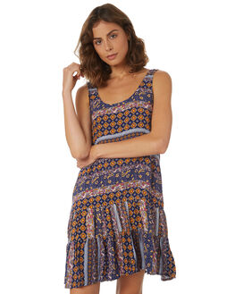 MULTI AZTEC WOMENS CLOTHING O'NEILL DRESSES - 4721610-MAZ