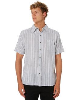 WHITE MENS CLOTHING RUSTY SHIRTS - WSM0915WHT