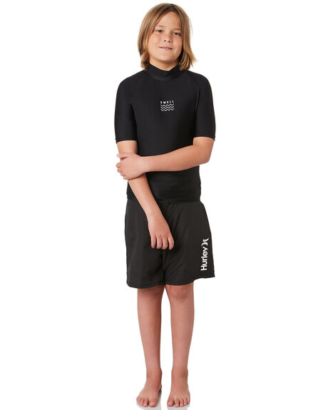 BLACK KIDS BOYS SWELL SWIMWEAR - S3164050BLACK