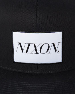 BLACK MENS ACCESSORIES NIXON HEADWEAR - C2914000