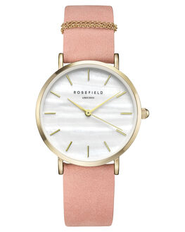 PINK GOLD WOMENS ACCESSORIES ROSEFIELD WATCHES - WBPG-W72PNKGD