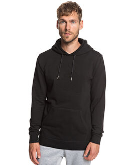 BLACK MENS CLOTHING QUIKSILVER JUMPERS - EQYFT03929-KVJ0