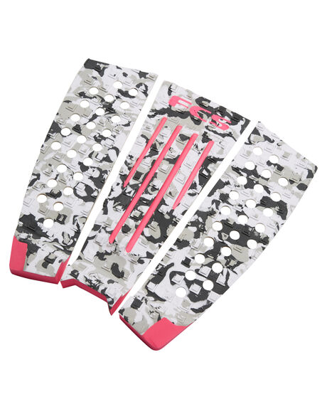 PINK CAMO BOARDSPORTS SURF FCS TAILPADS - 27721PNKCM