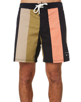 MULTI COLOURED MENS CLOTHING MISFIT BOARDSHORTS - MT093603MUL