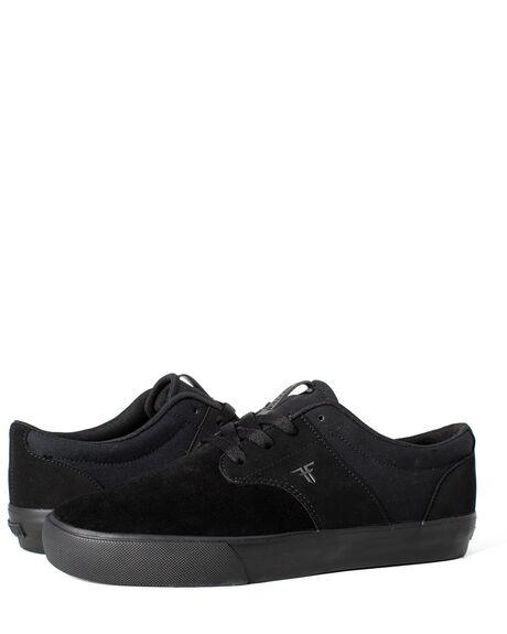 BLACK BLACK MENS FOOTWEAR FALLEN SNEAKERS - FMG1ZA085NEG99