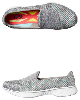 GREY WOMENS FOOTWEAR SKECHERS SNEAKERS - 14145GRY