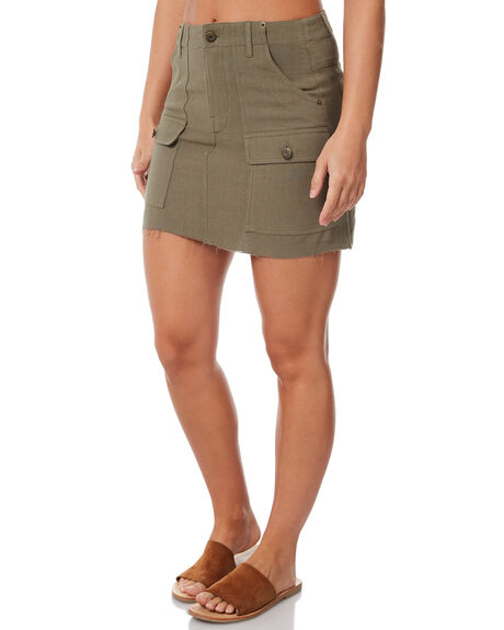 OLIVE OUTLET WOMENS THE HIDDEN WAY SKIRTS - H8183472OLIVE