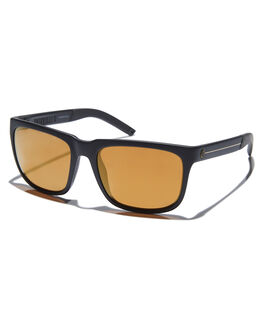 MATTE BLK GOLD STRPE MENS ACCESSORIES ELECTRIC SUNGLASSES - EE15165266MBKGS