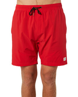 RED MENS CLOTHING ELEMENT SHORTS - 184363RED