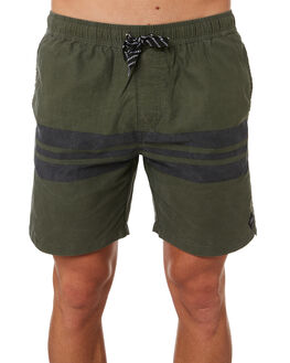 GREEN PIGMENT MENS CLOTHING SWELL BOARDSHORTS - S5184241GRNPG
