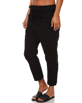 BLACK WOMENS CLOTHING ASSEMBLY PANTS - AW-W21755BLACK