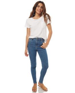ISLA BLUE WOMENS CLOTHING WRANGLER JEANS - W-097555-P94