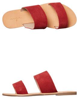 SCARLET RED WOMENS FOOTWEAR URGE FASHION SANDALS - URG160069SCAR