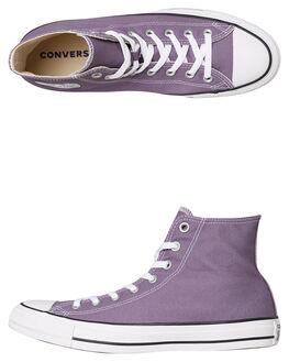 MOODY PURPLE WOMENS FOOTWEAR CONVERSE SNEAKERS - SS163352MPURPW