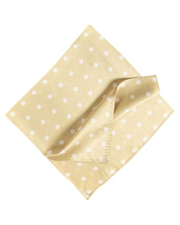 MUSH WHITE POLKA DOT WOMENS ACCESSORIES BILLINI SCARVES + GLOVES - AS19MSHWT