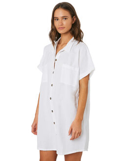 WHITE WOMENS CLOTHING SWELL DRESSES - S8201455WHITE