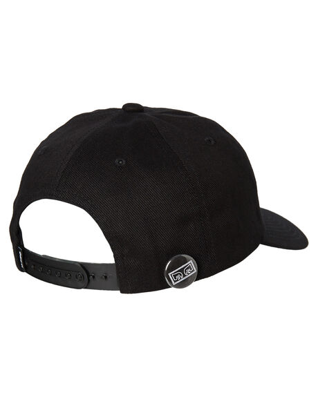 BLACK MENS ACCESSORIES OBEY HEADWEAR - 100580164BLK