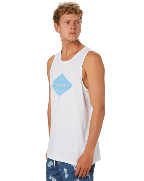 WHITE MENS CLOTHING SWELL SINGLETS - S5202286WHITE