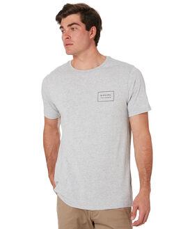 GREY MARLE MENS CLOTHING RIP CURL TEES - CTETB20085