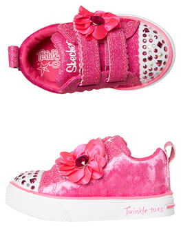 PINK KIDS GIRLS SKECHERS SNEAKERS - 20068NHPK