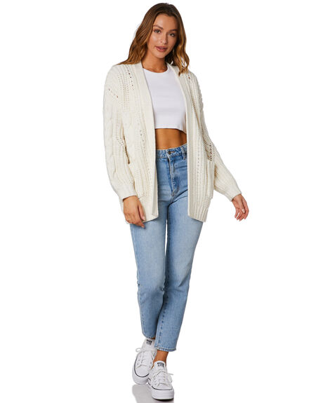 WHISPER WHITE WOMENS CLOTHING RUSTY KNITS + CARDIGANS - CKL0377-WWH