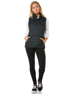 BLACK WOMENS CLOTHING DAKINE JACKETS - 10001971BLK