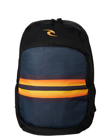 BLACK ORANGE MENS ACCESSORIES RIP CURL BAGS + BACKPACKS - BBPZQ21163