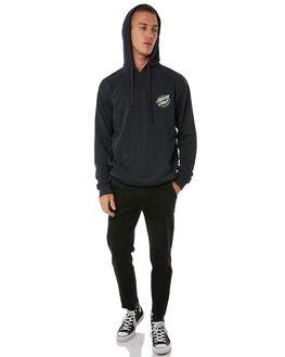BLACK MENS CLOTHING SANTA CRUZ JUMPERS - SC-MFA8757BLK