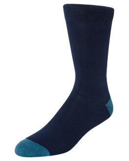 NAVY GREEN MENS CLOTHING ACADEMY BRAND SOCKS + UNDERWEAR - 19S004NVYGN