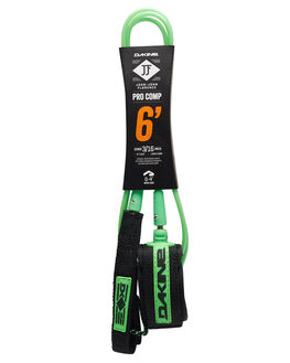 BLACK GREEN BOARDSPORTS SURF DAKINE LEASHES - 10001797BLKGR
